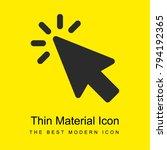 cursor bright yellow material...
