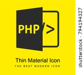 php bright yellow material... | Shutterstock .eps vector #794194327