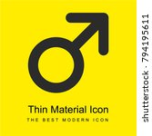 gender bright yellow material...