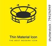 stadium bright yellow material... | Shutterstock .eps vector #794196949