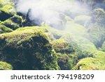 hot springs in national park... | Shutterstock . vector #794198209
