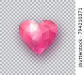 happy valentines day card.... | Shutterstock .eps vector #794210371