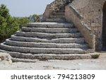 Small photo of Stairs - Detail of Torre dell Alto (Dell'Alto watchtower) Nardo', Salento, Apulia, Italy
