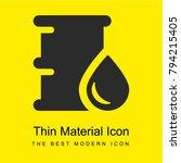 oil drum bright yellow material ...