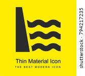 sea dyke bright yellow material ... | Shutterstock .eps vector #794217235
