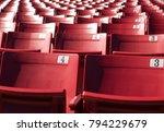 stadium seats sports...   Shutterstock . vector #794229679