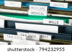 close up of a well organized... | Shutterstock . vector #794232955
