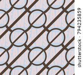 conceptual seamless pattern... | Shutterstock .eps vector #794235859