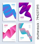 modern abstract covers design... | Shutterstock .eps vector #794237395
