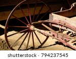 old wagon  tipton place  cades... | Shutterstock . vector #794237545