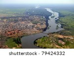 Aerial Of Juba  The Capital Of...