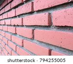 brick wall texture background...   Shutterstock . vector #794255005