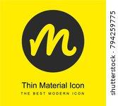 myfolio logo bright yellow...