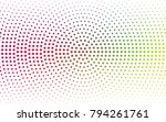 light multicolor vector modern... | Shutterstock .eps vector #794261761