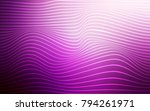 light pink vector background... | Shutterstock .eps vector #794261971