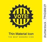 vote badge for political...