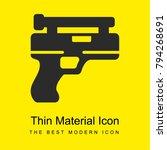 gun bright yellow material...