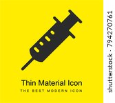 syringe bright yellow material... | Shutterstock .eps vector #794270761