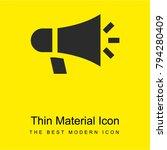 megaphone bright yellow... | Shutterstock .eps vector #794280409