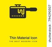 pan bright yellow material...