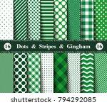 happy  st. patrick's day  set... | Shutterstock .eps vector #794292085