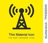 antenna bright yellow material...