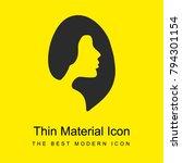 female hair salon symbol bright ... | Shutterstock .eps vector #794301154