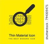 binary data search symbol... | Shutterstock .eps vector #794305471