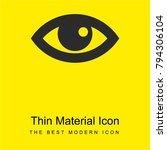 view eye interface symbol...