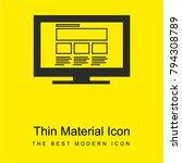 responsive website design on... | Shutterstock .eps vector #794308789