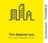 modern city buildings bright... | Shutterstock .eps vector #794308819