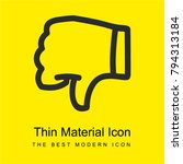 dont like symbol bright yellow...
