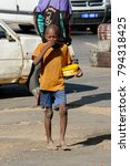 saint louis  senegal   apr 24 ... | Shutterstock . vector #794318425