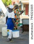 saint louis  senegal   apr 24 ... | Shutterstock . vector #794321005