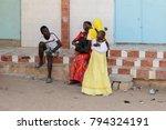 road to st. louis  senegal  ... | Shutterstock . vector #794324191