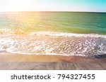 caspersen beach south venice | Shutterstock . vector #794327455