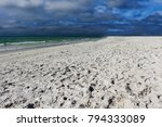 dramatic sky over the mexican... | Shutterstock . vector #794333089