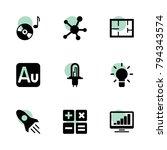technology icons. vector... | Shutterstock .eps vector #794343574