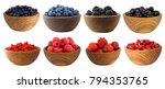blue black and red berries... | Shutterstock . vector #794353765