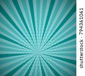 aquamarine turquoise colored... | Shutterstock .eps vector #794361061