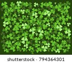 Shamrock  Clover Background....