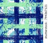 vector seamless bold plaid... | Shutterstock .eps vector #794367121