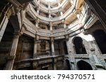 ancient well in ahmedabad india ... | Shutterstock . vector #794370571