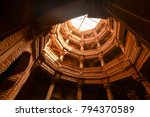 ancient well in ahmedabad india ... | Shutterstock . vector #794370589