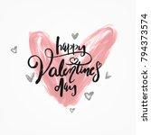 typographical vintage brush... | Shutterstock .eps vector #794373574