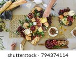 Cheese and grazing platter
