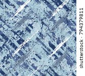 vector seamless bold plaid... | Shutterstock .eps vector #794379811