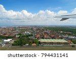 kuta aerial view from plane... | Shutterstock . vector #794431141