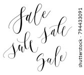 "vector illustration of ""sale""... 