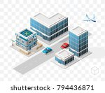 set of isolated high quality... | Shutterstock .eps vector #794436871